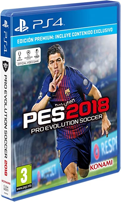 PES 2018 Pro Evolution Soccer - Edición Premium: Amazon.es ...