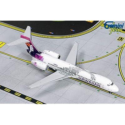 GeminiJets GJHAL1789 1:400 Hawaiian Airlines Boeing 717-200: Toys & Games