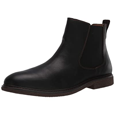 Amazon Brand - 206 Collective Men's Chelsea Boot Black 13 Medium US: Clothing