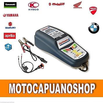 Ducati Tecmate Optimate 4 Cargador de batería Mantenimiento ...