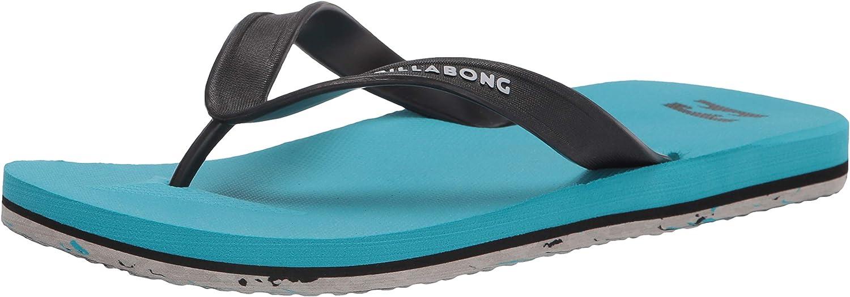 Billabong Men's All Day Logo Sandal Flip Flop: Shoes