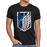 A.N.T. Titanes Legión de Reconocimiento Camiseta para Hombre T-Shirt