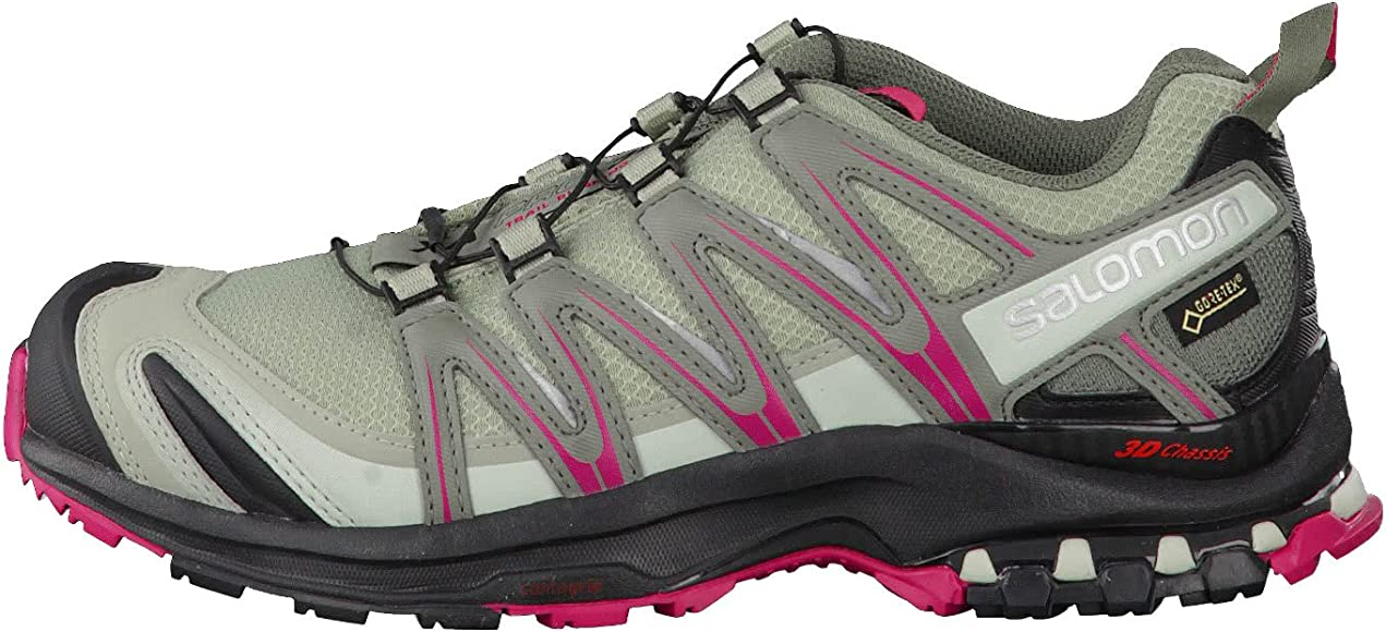 Salomon XA Pro 3D GTX, Zapatillas de Trail Running para Mujer, Gris (Shadow/Black/Sangria), 36 2/3 EU: Salomon: Amazon.es: Zapatos y complementos