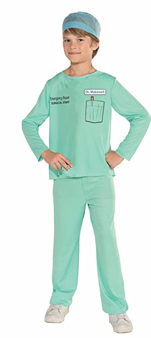 Forum Novelties Emergency Room Surgeon Costume, Child Large