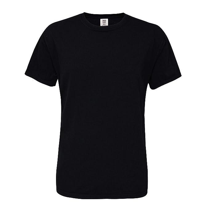 a55ef790c1db Amazon.com: Comfort Colors Mens Heavyweight T-Shirt: Clothing