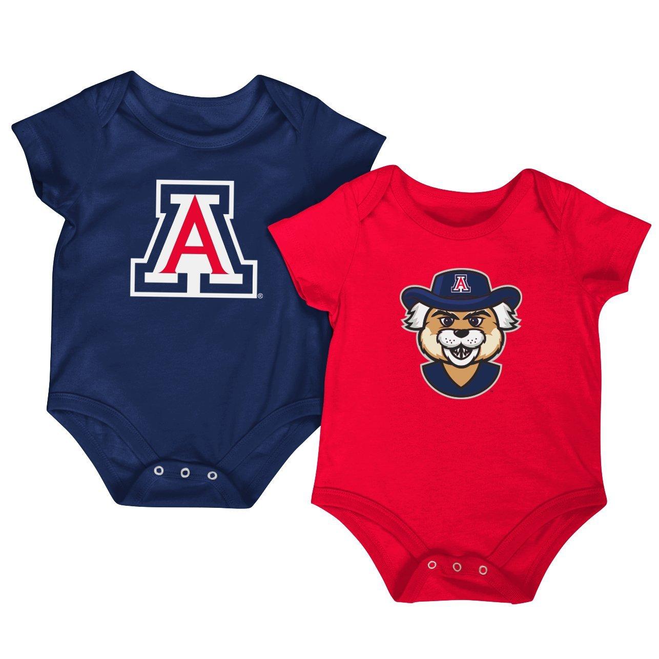 【超歓迎】 Colosseum NCAA半袖ボディスーツ2-pack-newbornと幼児サイズ 0-3 B0761F9QFP アリゾナワイルドキャッツ 0-3 Months 0-3 Months 0-3 Months アリゾナワイルドキャッツ, ヒルズファーム:06d4fbc9 --- svecha37.ru