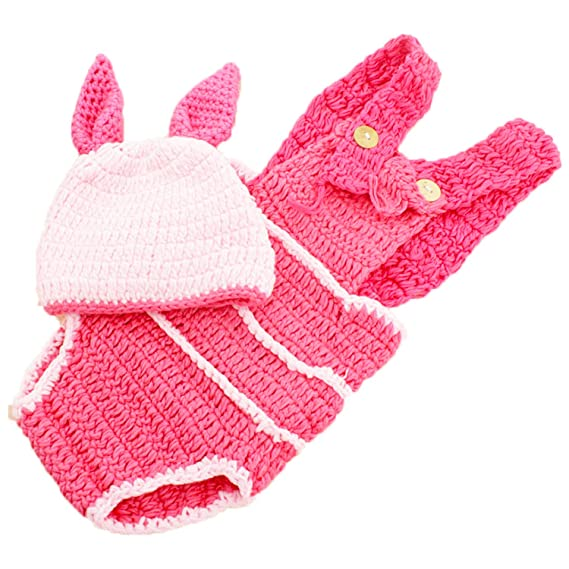 b1ccbd74d5f47a Babymoon Piglet Beautiful Costume Baby Shower (Set of 2)  Amazon.in ...