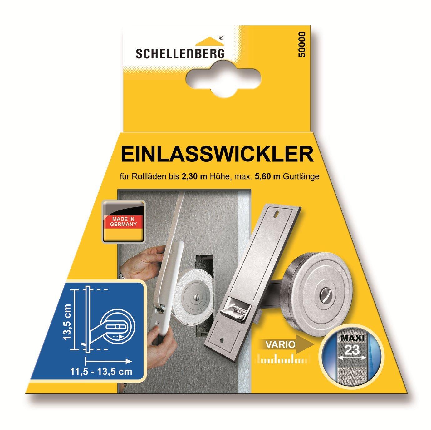Schellenberg Einlasswickler Maxi Lochabstand 26,0 cm