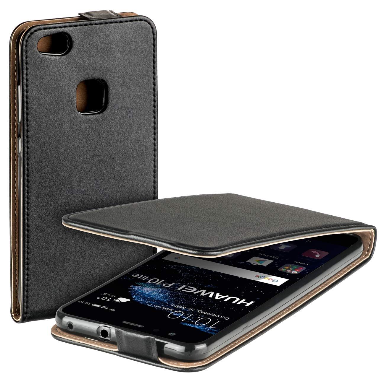 Huawei P10 Huawei Lite/ P10 Liteデュアル/ブラック用Yayagoプレミアムフリップスタイルレザーケース/ B06XRF5ZN2 B06XRF5ZN2, ヤカゲチョウ:65584500 --- cooleycoastrun.com