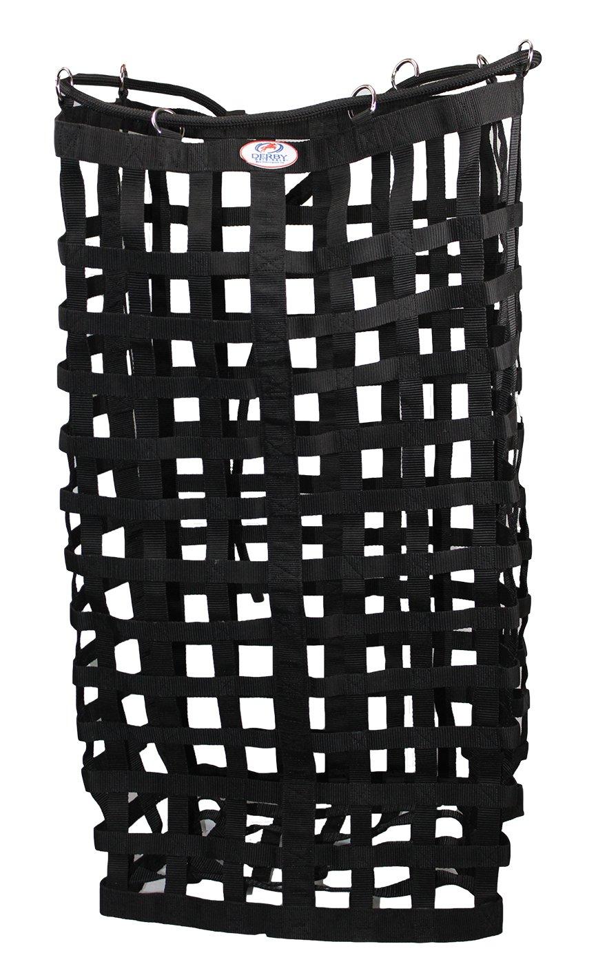Derby Originals XL Go Around 4 Sided Slow Feed Hay Bale Bag Patented (Black) by Derby Originals (Image #5)