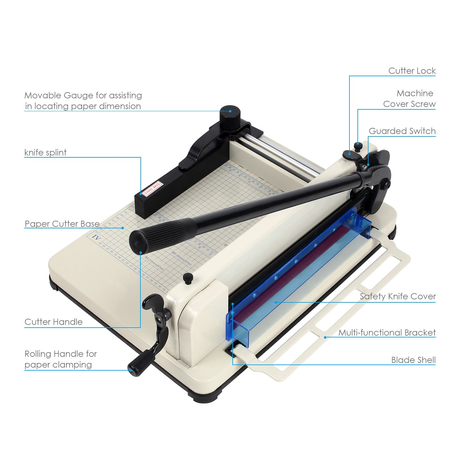 Amazon Amzdeal Paper Cutter Guillotine Paper Cutter Trimmer