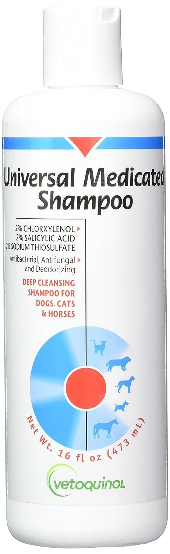 Vetoquinol 411627 Universal medic shampoo, 16 oz Vet Solution* 04154