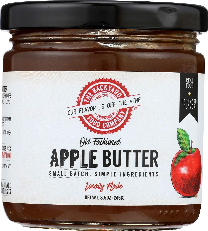 The Backyard Food Company, Apple Butter, 8.5 oz Jar