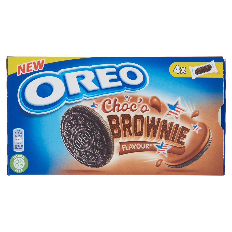 OREO Choc'o BROWNIE flavor cookies 176g Made in Spain