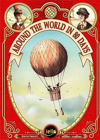 iello IEL51340 Around The World in 80 Days - Juego de Mesa [Importado de Alemania]: Amazon.es: Juguetes y juegos