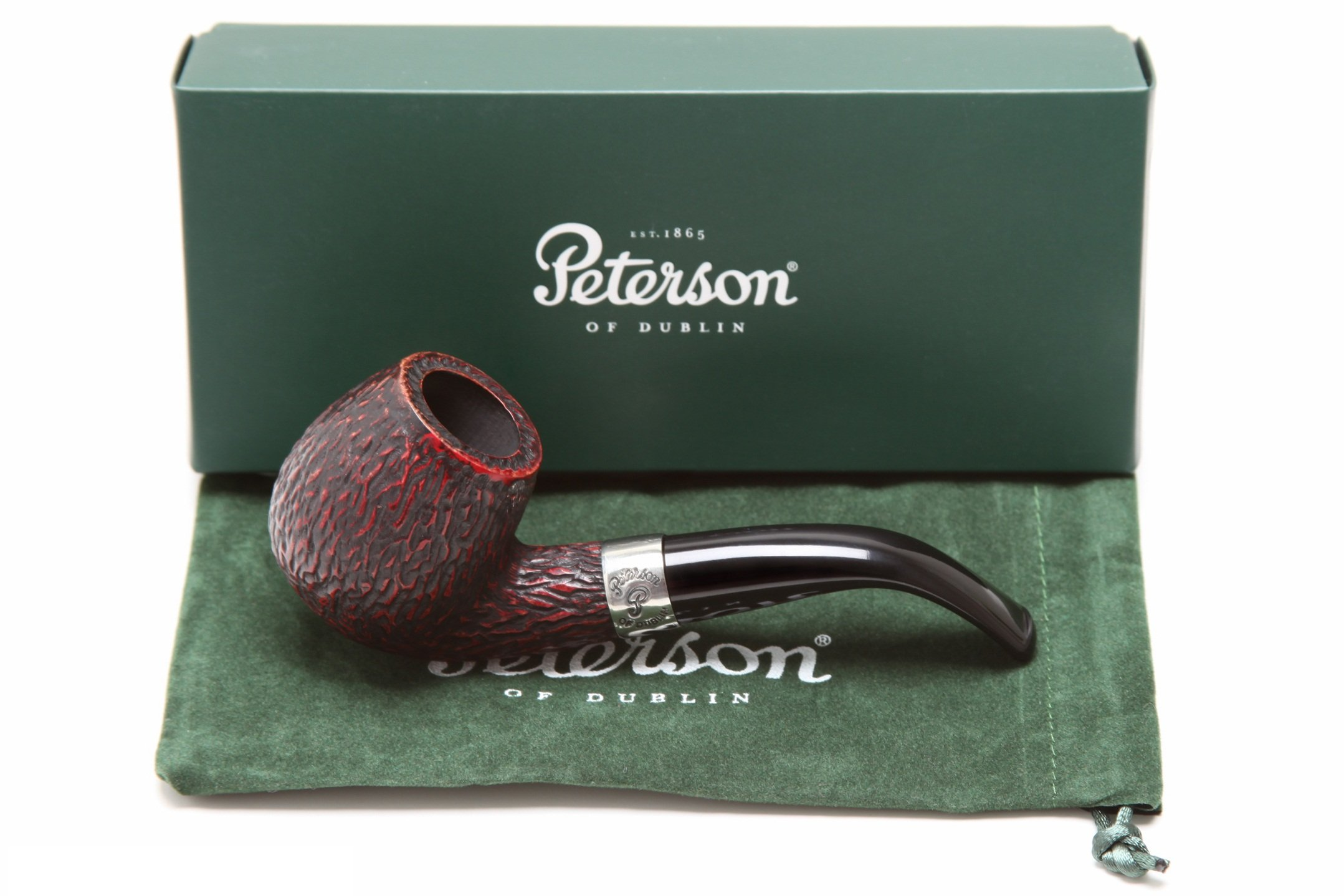 Peterson Donegal Rocky 68 Tobacco Pipe Fishtail by Peterson