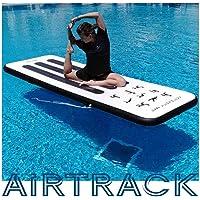 Opblaasbare Yogamat, AirTrack, Gymnastiekmat. 300-100-10cm (SUP tech)