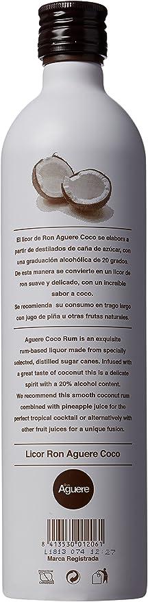 Ron Coco Aguere 70Cl: Amazon.es: Alimentación y bebidas