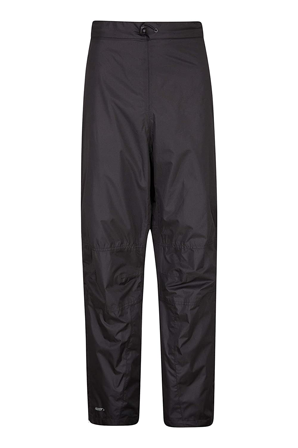 Mountain Warehouse Spray Mens Waterproof Trousers -Cool Walking Pants Black X-Large 016223005006