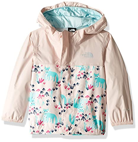 70fa4eb1162b The North Face Infant Tailout Rain Jacket - Purdy Pink Fox Floral Print -  3M  Amazon.in  Baby