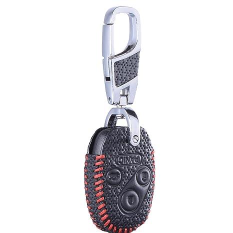 Amazon.com: DKMUS - Funda de piel para llaves de Honda Civic ...