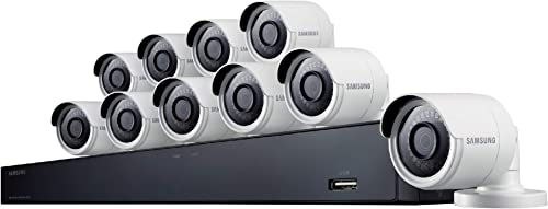 Samsung Wisenet SDH-C85100BF 16 Channel 4MP Super HD DVR Video Security System