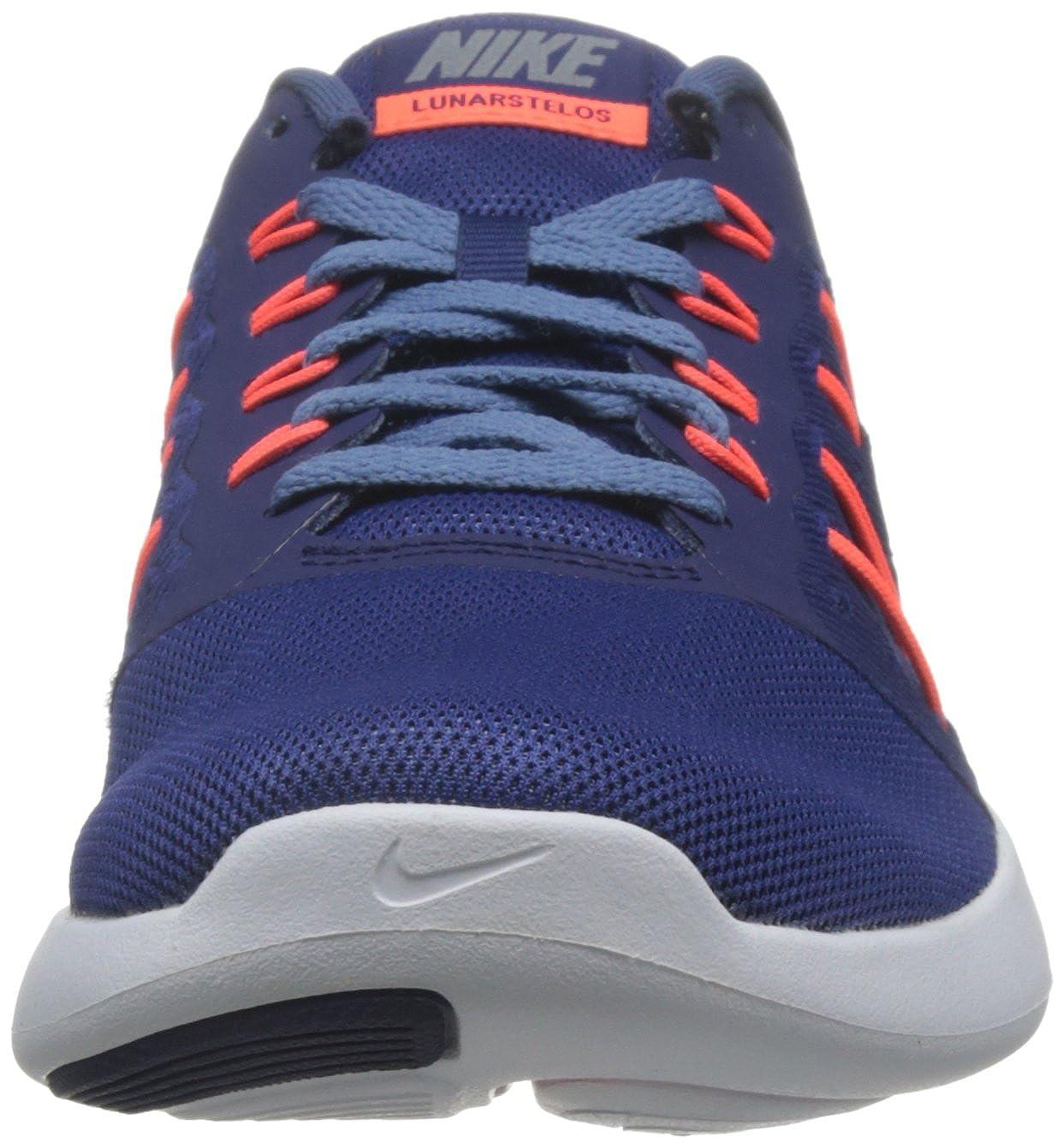 a74926b1ec615 Nike Mens Lunarstelos Low Top Lace Up Running Sneaker