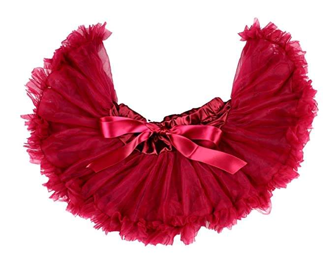 be24554b25 Christmas Wine Red Newborn Baby Pettiskirt Skirt Tutu Dress Girl Clothing  Nb-12m (Red): Amazon.co.uk: Clothing