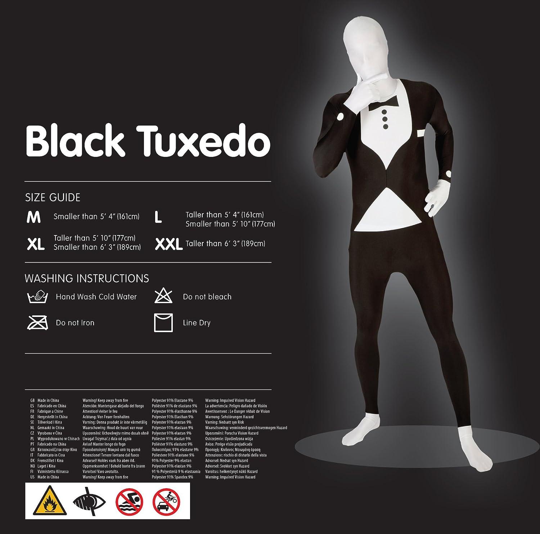 Morphsuits Premium Tuxedo M Black//White Medium