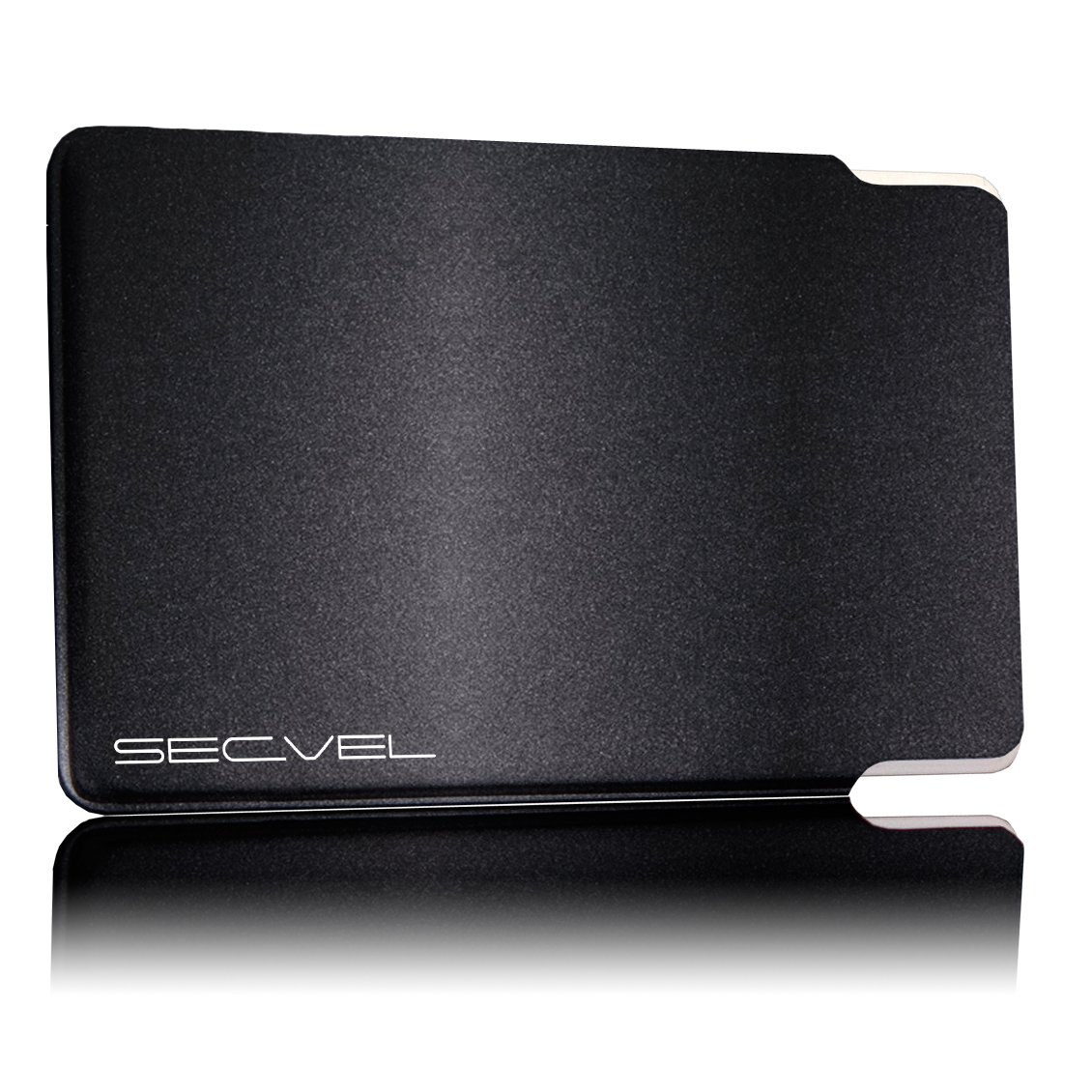 protection RFID//NFC et champs magn/étiques SECVEL Quattro Silver LeNOUVEAU et AME/´LIORE/´ /Étui de carte bancaire premium edition