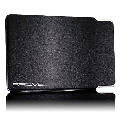 """441b406ac4 SECVEL - il""""NUOVO e MIGLIORATO"""" porta carta di credito premium  edition - protezione"""