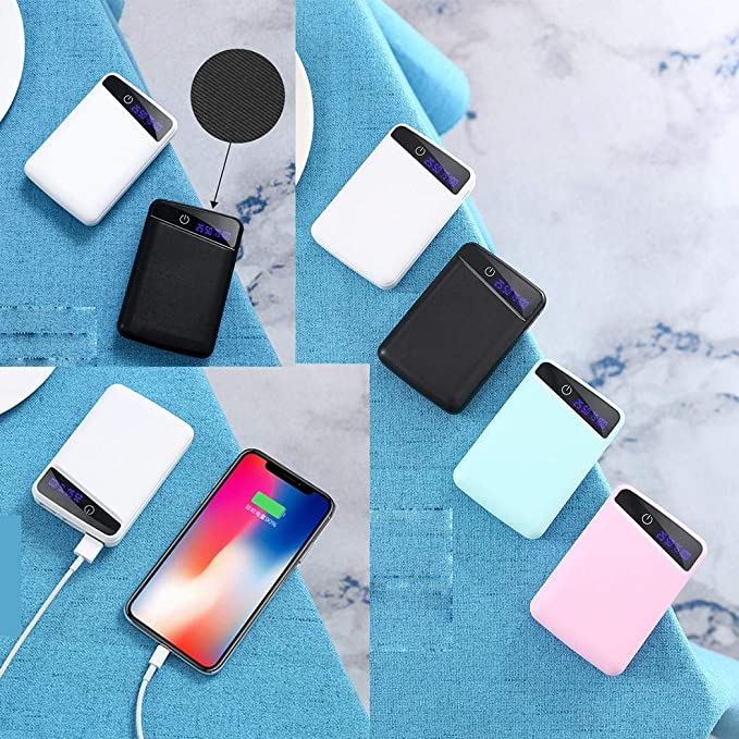 3 Puertos USB Mini Power Bank Creative Mobile Phone 6000 mAh ...