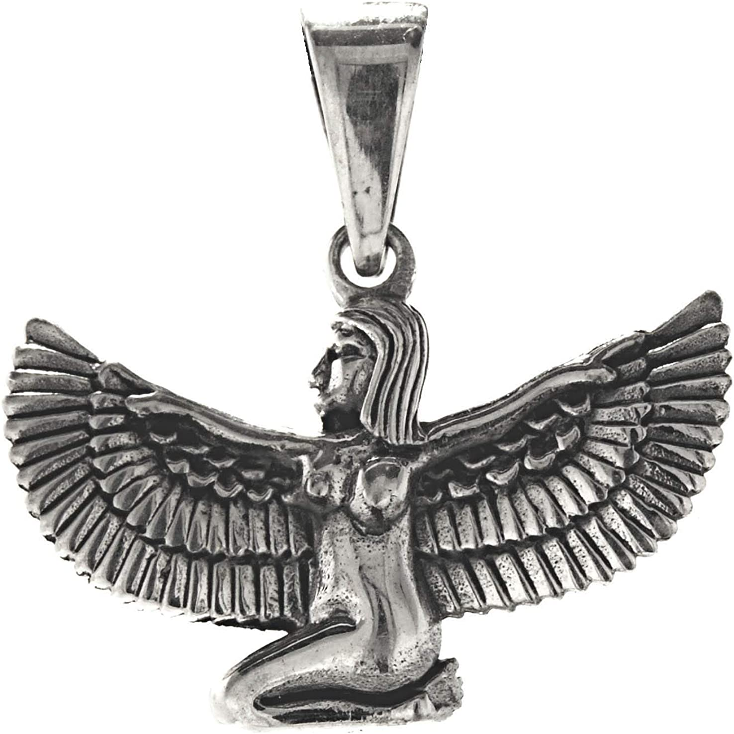 Argent 925//1000 363 Pendentif Isis Kiss of Leather