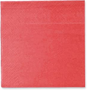 Coral Pink Party Supplies, Paper Napkins (5 x 5 In, 200 Pack)