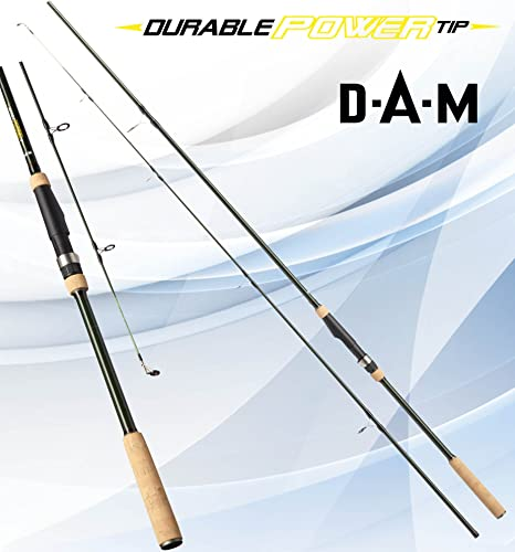 DAM Durable Power Tip, 2.70 m, 80 – 160 g – Caña de Spinning + ...