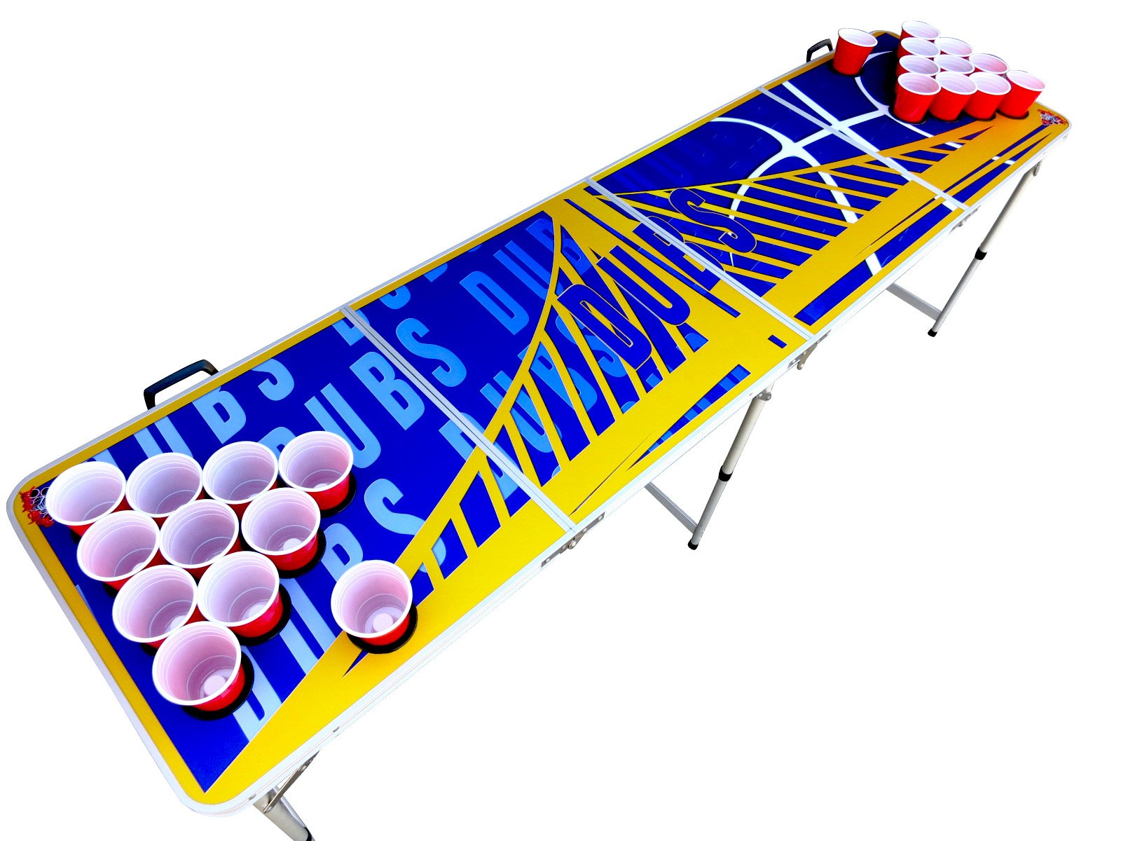 Dubs Beer Pong Table with Predrilled Cup Holes