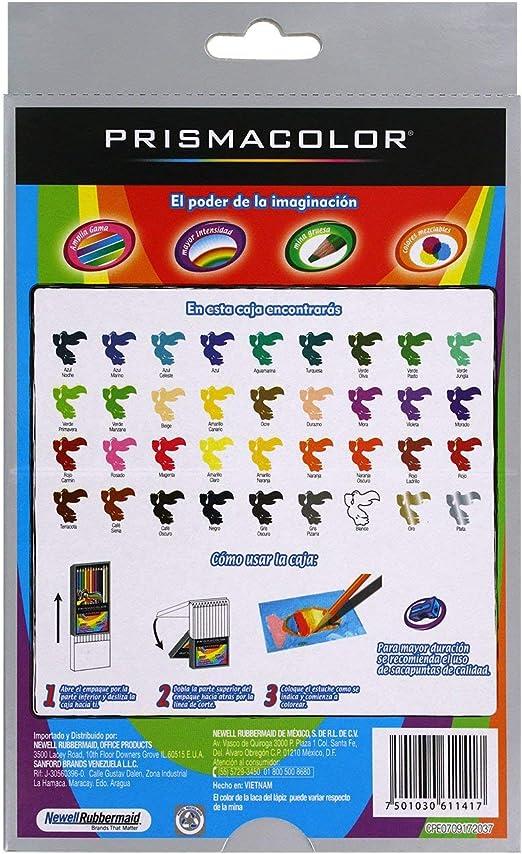 Amazon.com: Prismacolor - Juego de lápices de colores ...