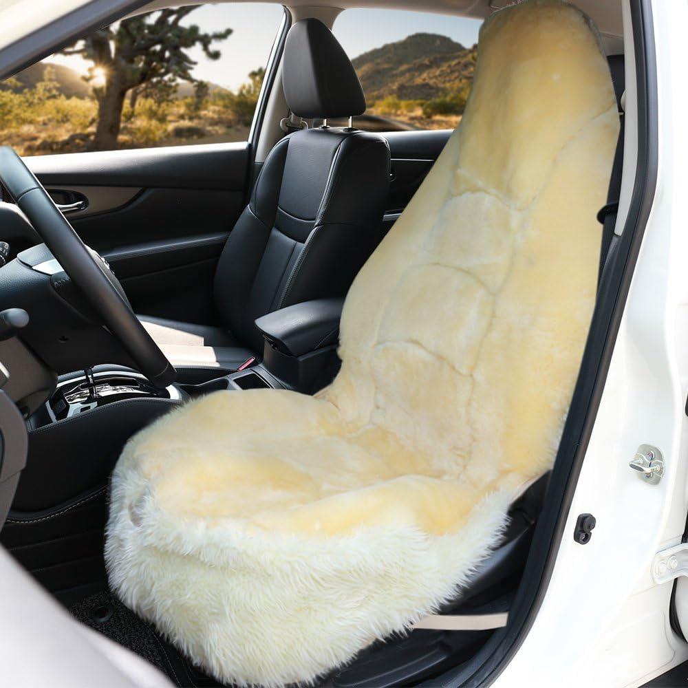 Leader Accessories Auto Sheepskin Seat Cushion