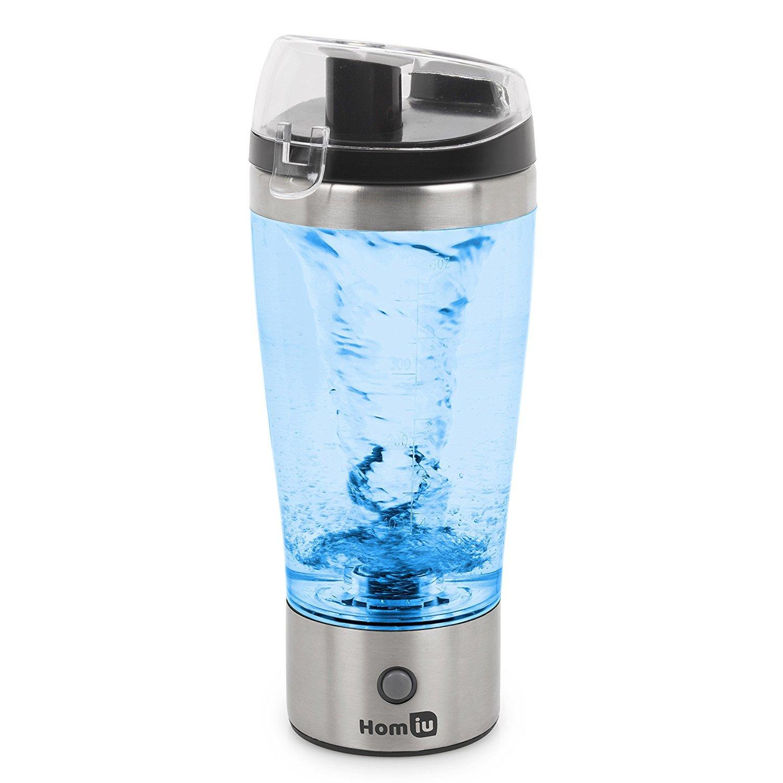 Mixer di proteine elettriche Homiu, movimento automatico Blender Vortex Tornado 450ml rimovibile in tazza a prova di perdite / senza BPA 4332488477