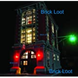 Ghostbusters Firehouse Headquarters Lighting Kit for LEGO 75827 (LEGO set NOT Included)