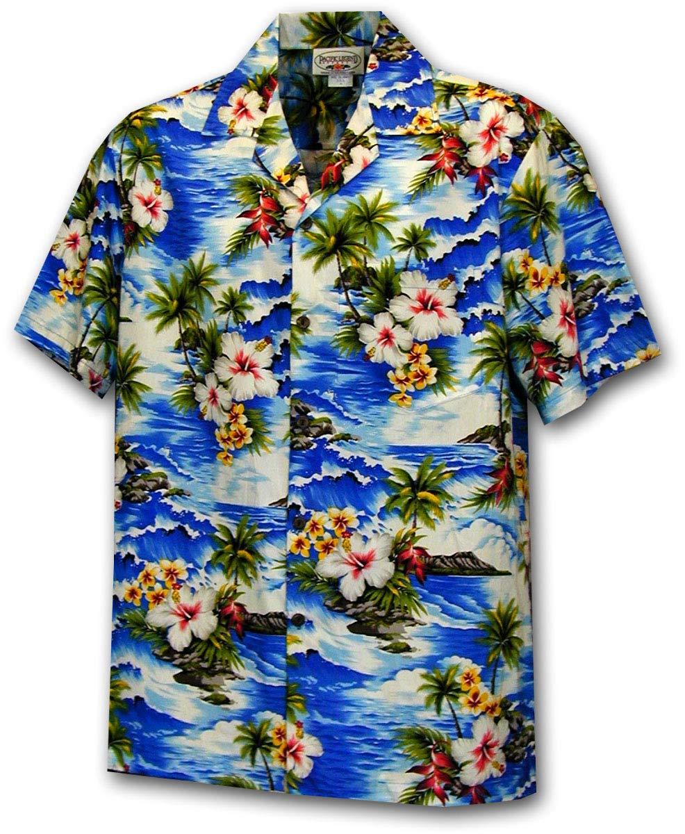 Pacific Legend Hawaiian Shirt Waikiki Beach