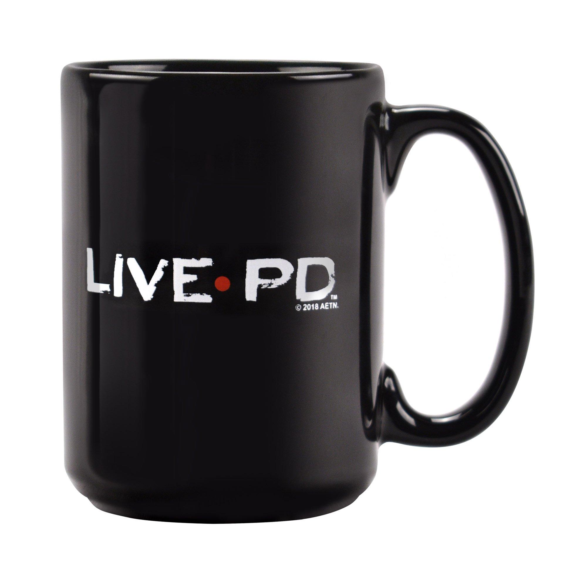 Official A&E Live PD TV Show 15 oz. Ceramic Coffee Mug