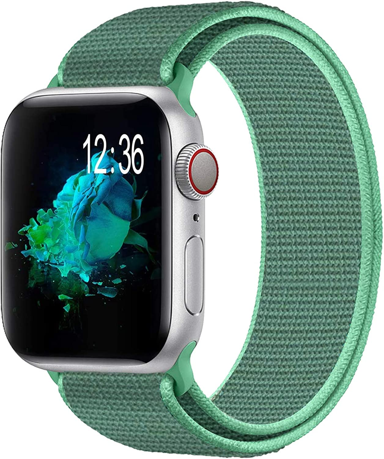 Watdpro Compatible with for Applle Watch Band 38mm 40mm 42mm 44mm, Soft Adjustable Lightweight Replacement Wristbands Compatible with for iWatch Series 6 5 4 3 2 1 SE