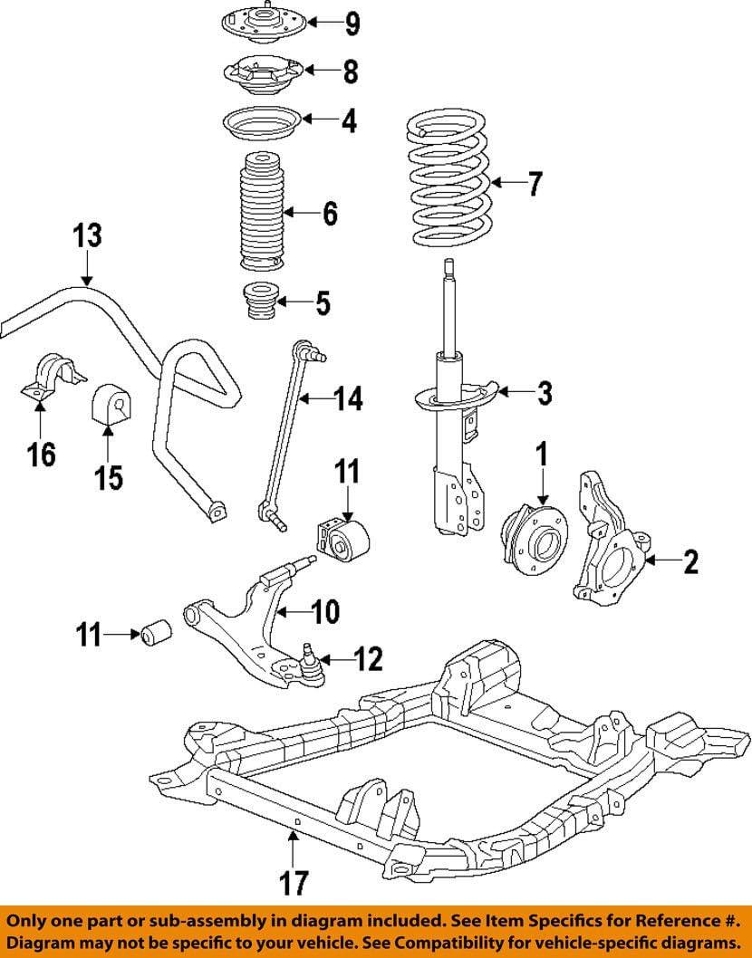 Suspension Stabilizer Bar General Motors 25918985