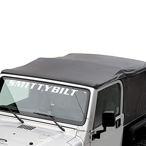 Black Diamond OE Style Replacement Soft Top with Tinted Window for Jeep Wrangler [Smittybilt] detail review