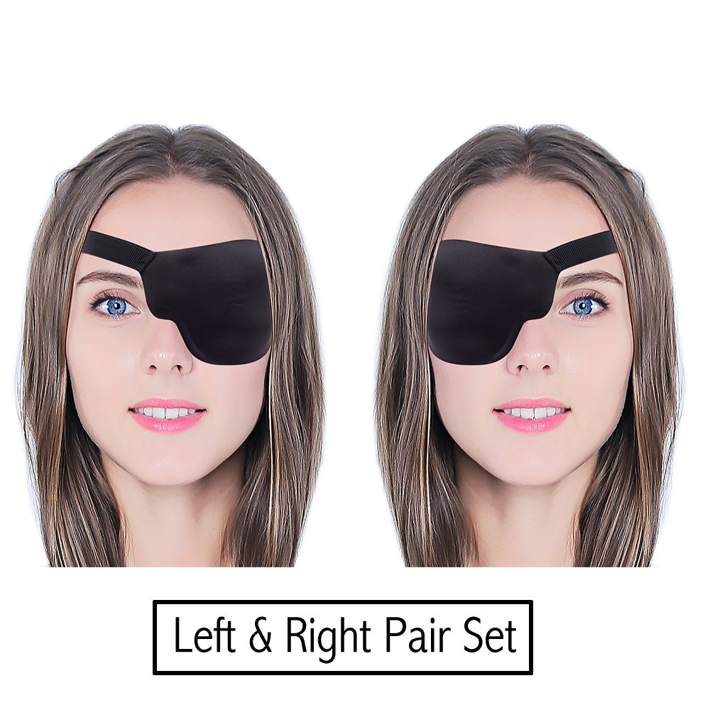 FCAROLYN 3D Eye Patch (Left Eye And Right Eye)