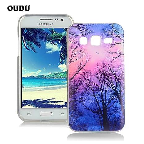OuDu Funda para Samsung Galaxy Core Prime G360 Carcasa Protectora Caso Silicona TPU Funda Suave Soft Silicone Case Cover Bumper Funda Ultra Delgado ...
