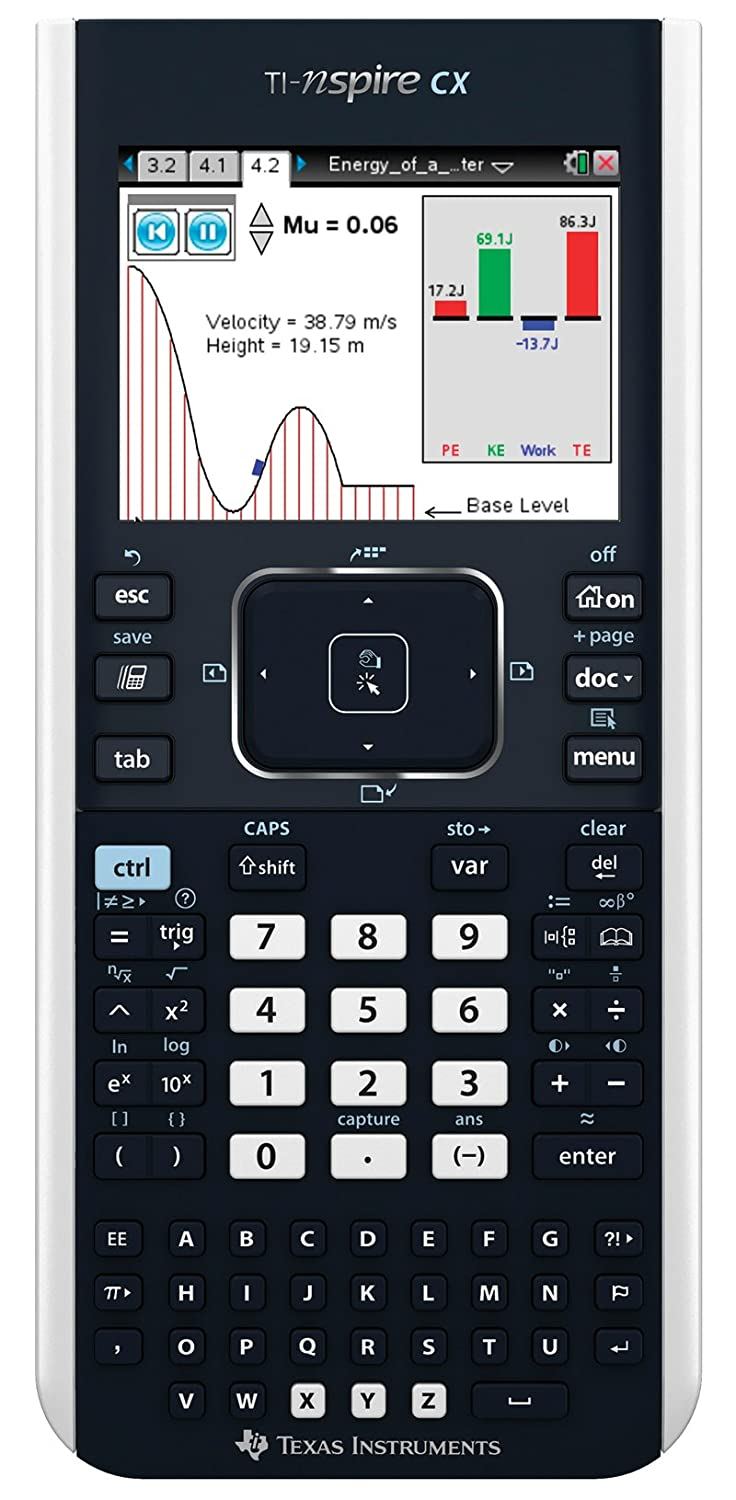Amazon: Texas Instruments Tinspire Cx Graphing Calculator: Office  Products