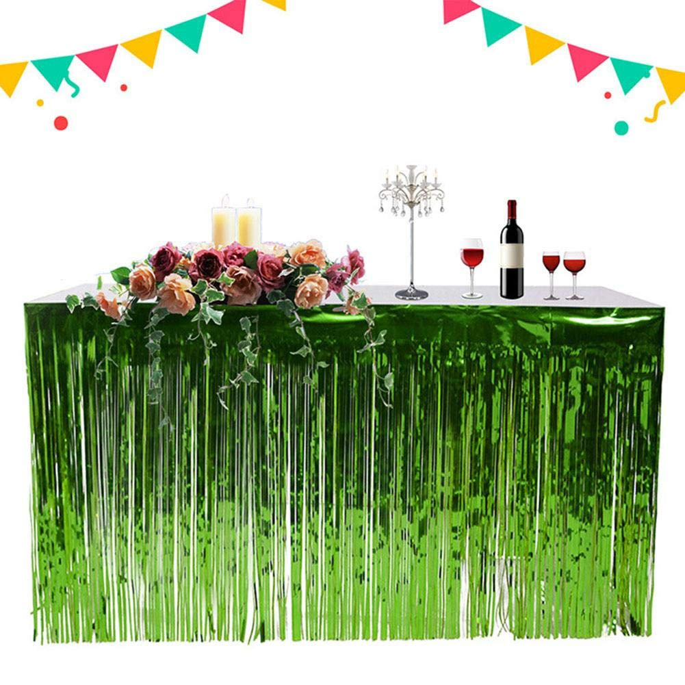 feste feste Oro tovaglia Hawaii Tovaglia spiaggia decorazione per feste 74 x 274 cm giardino per matrimoni