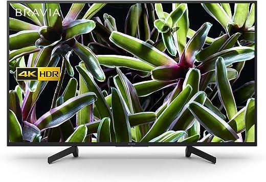 Sony XG70 (43 pulgadas) 4K Ultra HD HDR Smart LED Television (Negro) Motionflow XR 200 Hz: Amazon.es: Electrónica